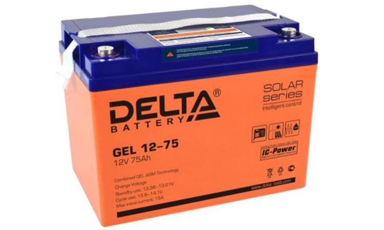 Обновление в каталоге аккумуляторов Delta в июне 2018